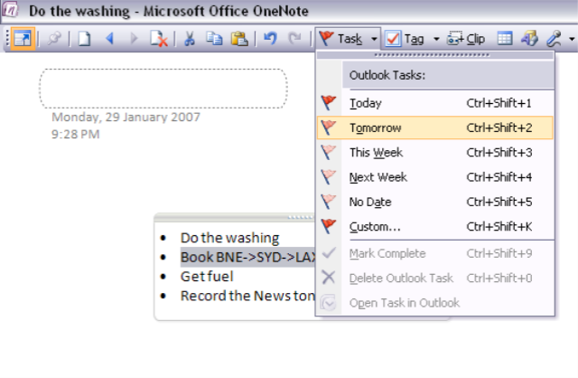 OneNote Features and Functions